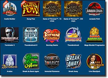Roxy Palace Online Casino Games