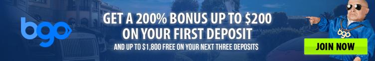 bgo welcome bonus