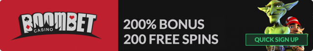 New player bonus boombet