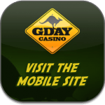 G'Day casino mobile app