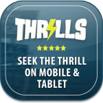 Thrills Casino  - Android and iOS mobile site