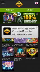 Gday mobile casino