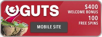 Guts.com - Mobile gambling in AUD