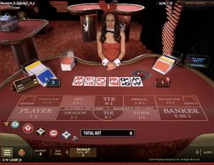 Live Dealer Playboy Bunny Baccarat