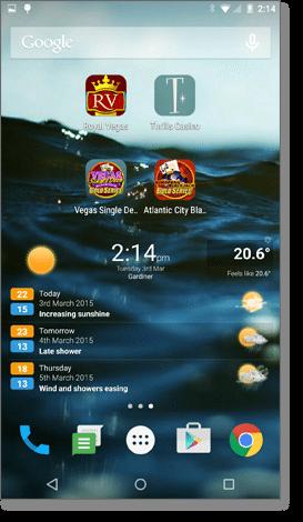 Mobile casino Blackjack Web Apps