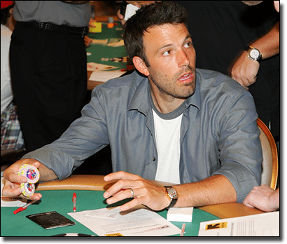 Ben Affleck - Card Counter extraordinaire