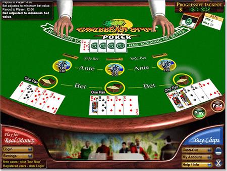 online casino websites caribbean stud