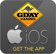 G'Day Casino official AUD iPhone and iPad app