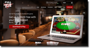 Play online hold'em at Full Tilt Poker