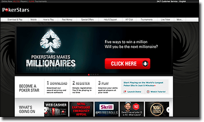 Play the best online poker at PokerStars
