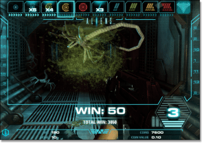 Play Aliens video slots online