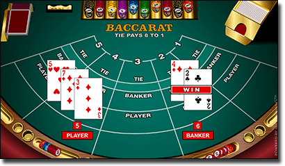 baccarat professional series high casino