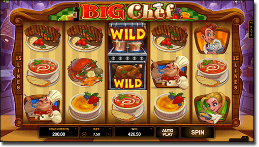 Play Big Chef pokies online for real money