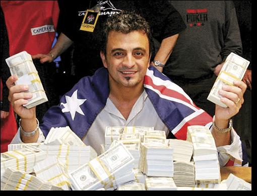 Joe Hachem - Top 5 Australian poker players