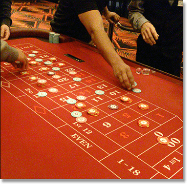 Roulette double zero at Crown Casino