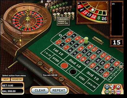 Play BetSoft developed European Roulette online