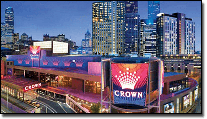 Crown Casino in Melbourne, Victoria