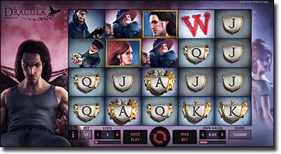 Play Dracula online slots for real money