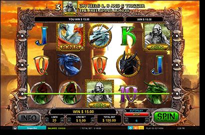 Dragon Slot pokies by Leander