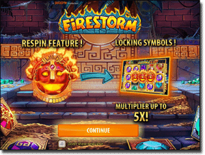 Play Firestorm pokies for real money on the Net
