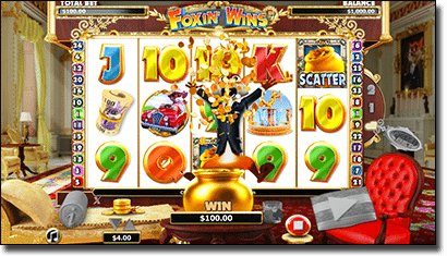 Foxin' Wins Next Gen slot