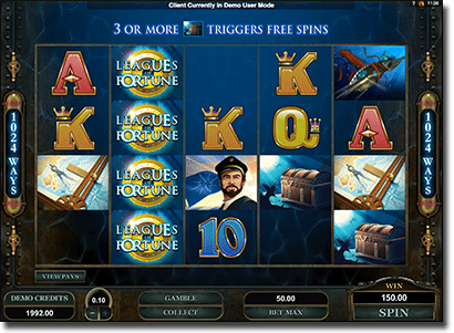 Play Leagues of Fortune 1024 Ways slots online