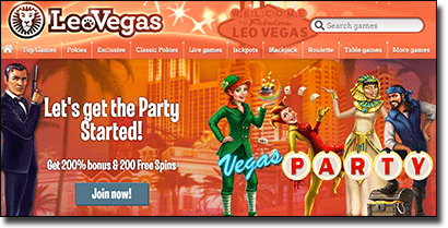 Leo Vegas Casino bonuses for Australians