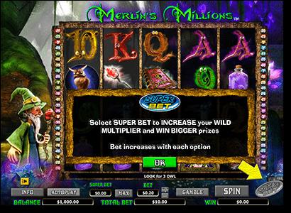 Merlin Millions online pokies