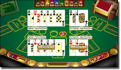Bonus Pai Gow Poker by Microgaming online