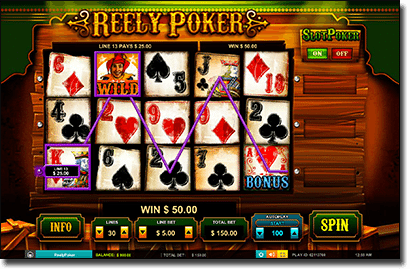 Online Reely Poker video slots