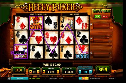 Online Reely Poker video slots
