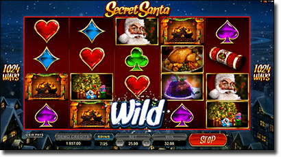 Play Secret Santa 1024 Ways pokies online