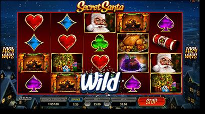 Play Secret Santa 1024 Ways pokies online