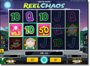 Play South Park Reel Chaos Internet slots by Net Entertainment