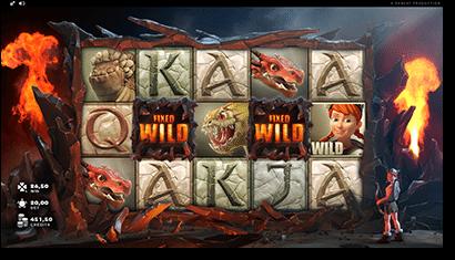 Dragon's Myth online pokies by Rabcat