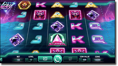 Play Neon Stax real money pokies