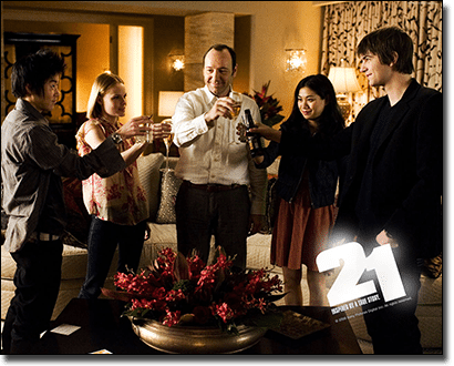21 the film based on blackjack