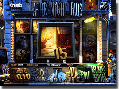 After Night Falls - BetSoft 3D animated pokies