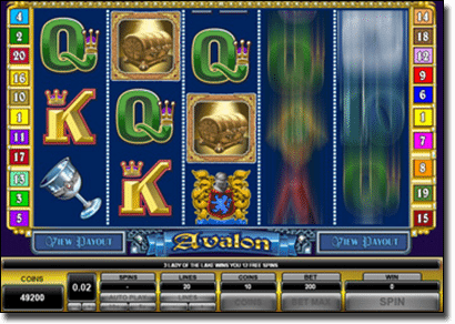 Play Avalon online pokies for real money