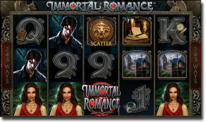 Immortal Romance online slots