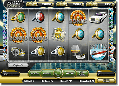 Mega Fortune progressive jackpot pokies on mobile