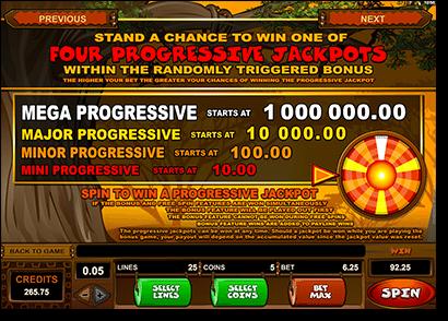 Mega Moolah pokies progressive jackpot