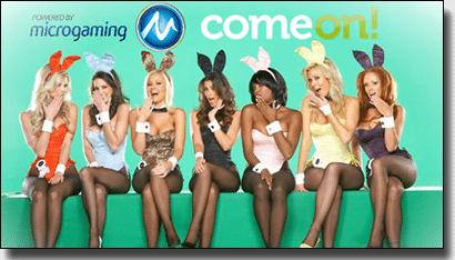 Microgaming software - Playboy Bunny slots and live dealer