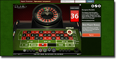 Play no download roulette online for real money AUD