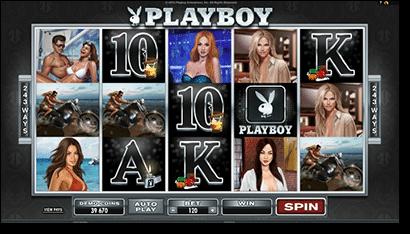 Playboy online video pokies