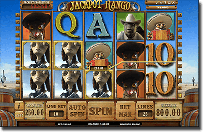 Jackpot Rango pokies for real money online