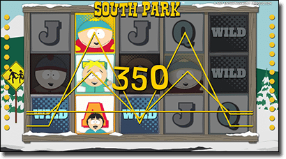 South Park real money slots by Net Ent