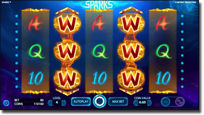 Play Sparks online pokies for real money