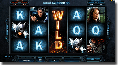 Play The Dark Knight Rises online pokies