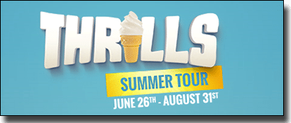 Thrills Summer Tour promotion